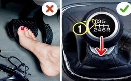 7 thói quen lái ô tô tai hại của chị em khiến xe nhanh hỏng