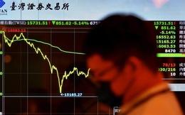 """Chứng khoán Đài Loan lại """"đỏ lửa"""" vì nỗi lo Covid-19"""