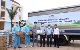 Vinamilk hỗ trợ 2 triệu sản phẩm dinh dưỡng cho cộng đồng và tuyến đầu chống dịch Covid-19
