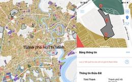 Ứng dụng thông tin quy hoạch chặn các cơn sốt đất