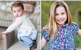 """Công chúa Charlotte lớn phổng phao, rạng rỡ trong bức ảnh mừng sinh nhật 6 tuổi, được nhận xét là """"bản sao"""" y đúc bố"""