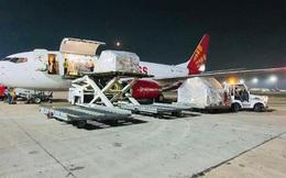 Chuyến hàng viện trợ đầu tiên của Việt Nam đến Ấn Độ