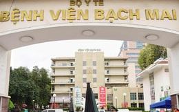 Bộ trưởng Bộ Y tế lập đoàn kiểm tra toàn diện Bệnh viện Bạch Mai
