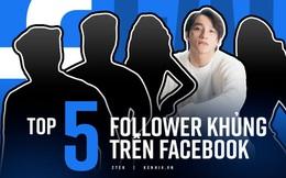 """Top 5 người có lượng follow khủng nhất Facebook Việt, cả Sơn Tùng M-TP lẫn Ngọc Trinh đều bị cái tên này cho """"hít khói"""""""