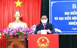 Thủ tướng Phạm Minh Chính bỏ phiếu bầu cử tại Cần Thơ