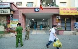CLIP: Phong tỏa tòa nhà ở khu đô thị Việt Hưng có ca dương tính SARS-CoV-2