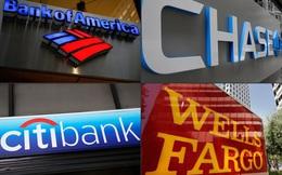 Các ngân hàng Mỹ sẽ có mức lợi nhuận kỷ lục, cổ phiếu tăng mạnh năm 2021