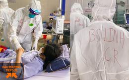 Hình ảnh xúc động: Đội phản ứng nhanh BV Chợ Rẫy túc trực ngày đêm điều trị cho các bệnh nhân nặng tại tâm dịch Bắc Giang