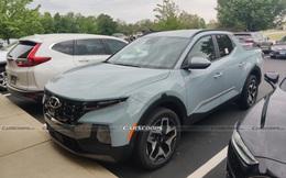 Bán tải đầu tiên của Hyundai bất ngờ xuất hiện trên phố