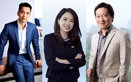 """3 chủ tịch ngân hàng trẻ nhất Việt Nam: Người ngồi """"ghế nóng"""" từ khi 34 tuổi, người chuyển từ ngành dược sang tài chính, đặc biệt nữ chủ tịch được bầu vào phút chót"""
