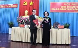 Ông Lê Hồng Quang làm Bí thư Tỉnh ủy An Giang