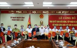 Đắk Lắk bổ nhiệm hàng loạt Giám đốc, phó Giám đốc Sở