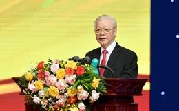 Tổng bí thư Nguyễn Phú Trọng: Các TCTD phải không ngừng nỗ lực, phấn đấu ngang tầm khu vực và từng bước vươn ra thế giới