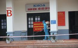 Phong tỏa toàn bộ Bệnh viện Phổi Lạng Sơn vì ca nghi nhiễm COVID-19