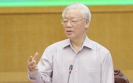Tổng Bí thư Nguyễn Phú Trọng: 'Nếu trúng cử đại biểu Quốc hội thì rất vinh dự, tôi cố gắng làm hết sức mình'
