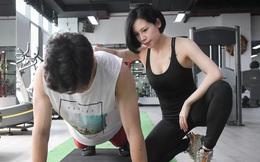 Nữ gymmer xinh đẹp làm việc 15 giờ/ngày, kiếm 200 triệu đồng mỗi tháng