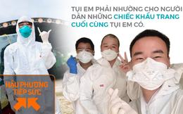 Thanh niên tự phi xe máy lên Bắc Giang chống dịch: Tụi em phải nhường cho người dân những chiếc khẩu trang cuối cùng