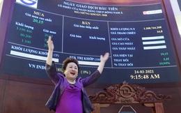 Cổ phiếu thăng hoa, tài sản của các ông bà chủ nhà băng tăng vọt
