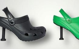 Thương hiệu xa xỉ Balenciaga tung mẫu 'dép cao gót Crocs' có giá dự kiến 1.000 USD