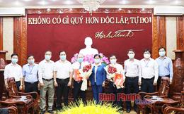 Bình Phước bổ nhiệm Giám đốc, Phó giám đốc Sở TT&TT và Sở Tài chính