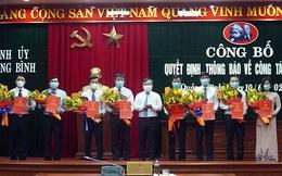 Quảng Bình bổ nhiệm hàng loạt Phó Giám đốc Sở