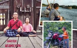 Ông bố đưa con đi du lịch từ nhỏ: 12 tuổi phượt Myanmar, nói tiếng Anh hơn sinh viên đại học và bí quyết gia đình chung nhịp thở
