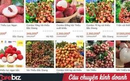 """6 sàn TMĐT hợp lực tiêu thụ vải thiều Bắc Giang: Giúp nông dân livestream chốt đơn """"khủng"""", sẽ mở rộng bán nông, đặc sản khắp vùng miền"""