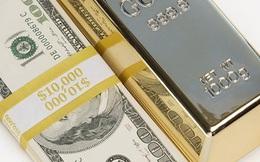 Giá vàng giảm tiếp, lao dốc xuống dưới 1.780 USD/ounce