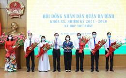 Ông Tạ Nam Chiến tái đắc cử Chủ tịch UBND quận Ba Đình