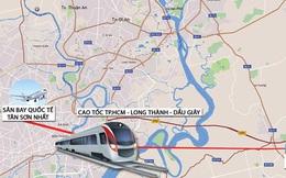 """Đề xuất đường sắt kết nối """"siêu"""" sân bay Long Thành"""