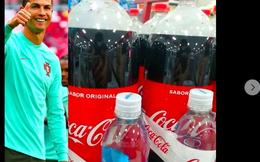 Sau cú gạt tay thổi bay 4 tỷ đô của Ronaldo, Coca Cola bán chai lớn tặng kèm nước lọc