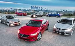 5 mẫu sedan phổ thông được ưa chuộng nhất tại Việt Nam