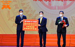 T&T Group ủng hộ 30 tỷ đồng cho chương trình tiêm vắc xin phòng COVID-19 của TP Hà Nội