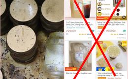"""""""Ma trận"""" nguyên liệu trà sữa Gong Cha giả trên Shopee, giá siêu rẻ với lời rao bán 1 lời 10"""