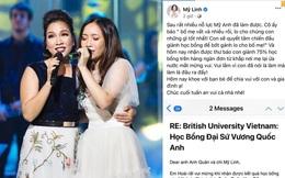 Cô út nhà diva Mỹ Linh giành vị trí Quán quân học bổng tại Đại học Anh Quốc, gây ấn tượng bởi lời nhắn gửi đến mẹ