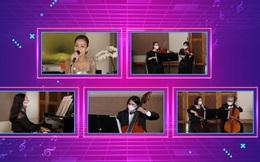 """Nhạc trưởng Lê Phi Phi chỉ huy dàn nhạc """"xuyên biên giới"""", Thu Minh cất cao giọng hát từ Singapore trong đêm hòa nhạc có 1-0-2!"""