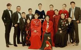 """Hình ảnh đại gia đình đậm chất danh gia vọng tộc của Hà Kiều Anh nhận được sự chú ý giữa ồn ào tự xưng là """"công chúa đời thứ 7 của triều Nguyễn"""""""