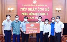 NHNN ủng hộ tỉnh Bắc Ninh và Bắc Giang phòng, chống dịch bệnh Covid-19, mỗi tỉnh 5 tỷ đồng