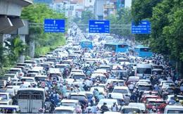 Nới lỏng một số hoạt động, đường phố Hà Nội lại tái diễn cảnh tắc nghẽn
