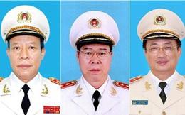 Chân dung ba Thượng tướng vừa thôi giữ chức Thứ trưởng Bộ Công an