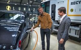 Danh thủ David Beckham 'chơi lớn' khi mua 10% cổ phần hãng xe điện hóa Rolls-Royce, Jaguar và Range Rover