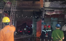 Quảng Ngãi: 4 người tử vong thương tâm trong vụ cháy cửa hàng điện