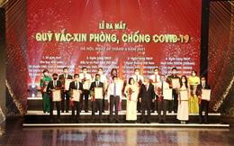 HDMon Holdings trao tặng 50 tỷ đồng tại sự kiện ra mắt Quỹ vắc-xin phòng, chống COVID-19