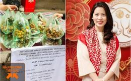Người phụ nữ Hà Nội mua 2 tấn vải Bắc Giang để phát miễn phí, không nhận tiền ủng hộ mà hướng dẫn mọi người đóng góp cho Quỹ vaccine phòng Covid-19