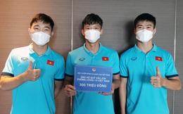 Tuyển Việt Nam chung tay ủng hộ 300 triệu đồng vào Quỹ vắc-xin phòng, chống COVID-19