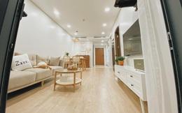 Mua chung cư 72m2, vợ chồng mới cưới tự tay thiết kế từng góc theo phong cách Hàn Quốc, chơi thêm cả bể cá ban công