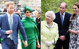 Nhà Sussex thân thiết với hoàng gia sau khi con gái chào đời, Meghan chủ động làm lành với chị dâu và phản ứng cao tay của Công nương Kate
