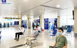 Sân bay Tân Sơn Nhất đã có test nhanh Covid-19 cho hành khách với giá 540.000 đồng/người