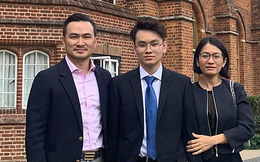 Con trai Chi Bảo vừa trúng tuyển đại học top đầu nước Anh: Chọn 1 ngành học cực oách, nhìn mức lương sau này ai cũng mê