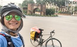 Rong ruổi 3071km, chàng trai Hà Nội đạp xe xuyên Việt quyên góp tiền giúp người khiếm thị